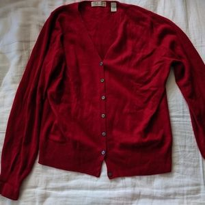 Lord and Taylor Cashmere Cardigan